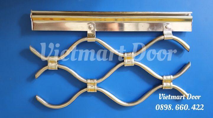 Báo giá Cửa cuốn lưới mắc võng inox 304
