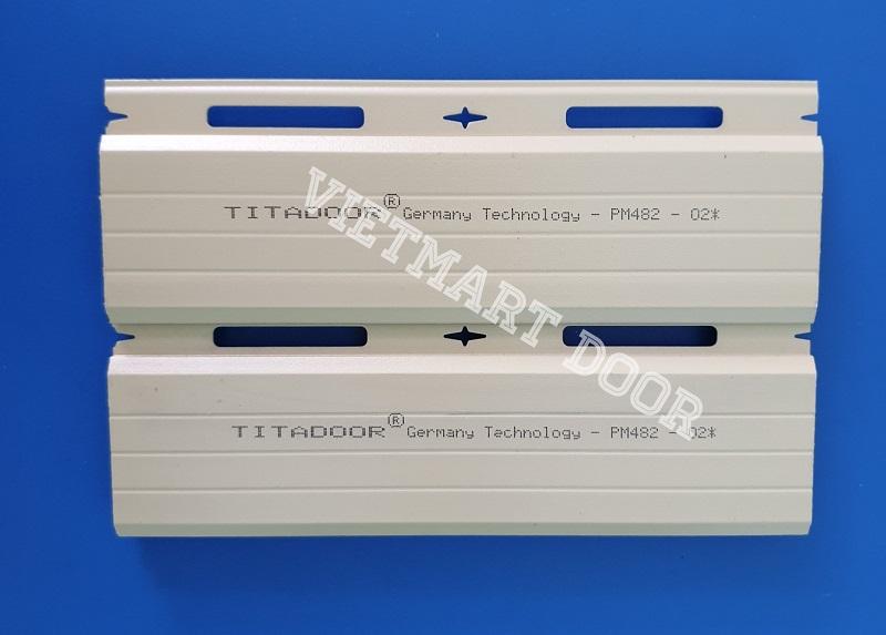 Bảng báo giá cửa cuốn đức Titadoor PM 482*